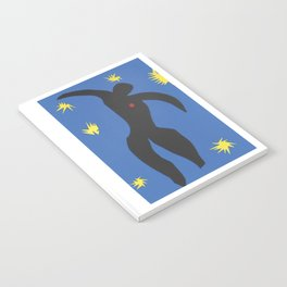 Henri Matisse, Icarus (Icare) from Jazz Collection, 1947, Artwork, Men, Women, Youth Notebook