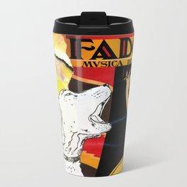 Feliz, the critic Metal Travel Mug