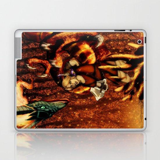 Zelda Fire Temple Boss Laptop & iPad Skin