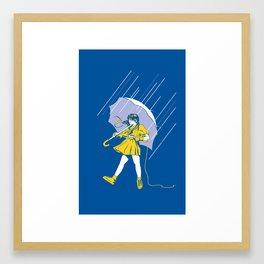 Salty Framed Art Print