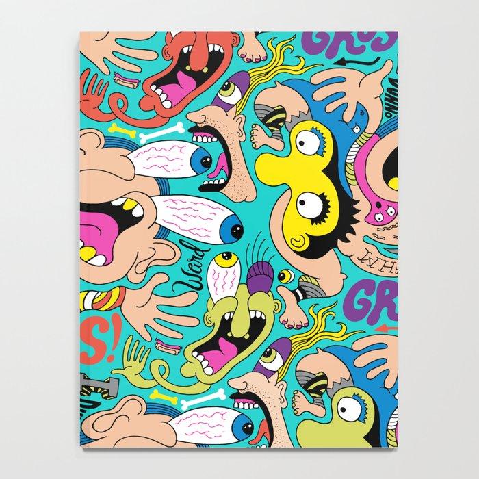 Weird Pattern Notebook