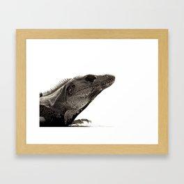 PROUD PROFILE Framed Art Print