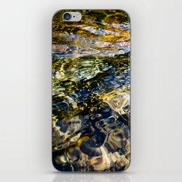 Warm Yuba Ripples iPhone Skin