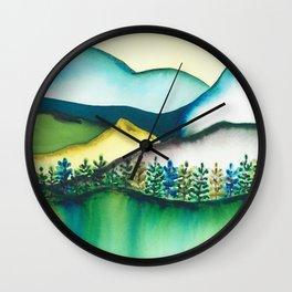 Castle Crags PCT Wall Clock