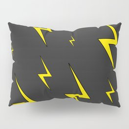 Lightning Bolt Pattern Pillow Sham