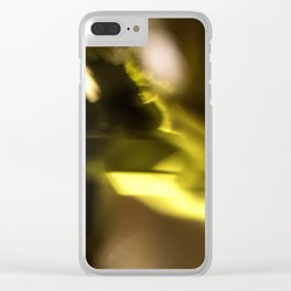 Kubrick's golden dreams Clear iPhone Case