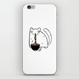 Rasabi Cat - Ramen Forever iPhone Skin