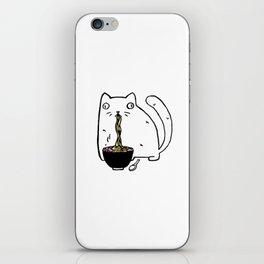 Rasabi Cat - Ramen Forever iPhone Skin