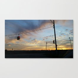 Twilight Over Michigan Canvas Print