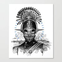 nemo Canvas Prints featuring Nemo by victor calahan