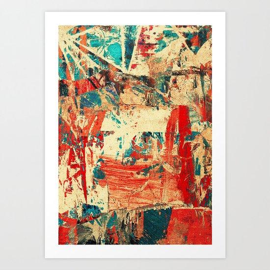 Ipanema 40° Art Print