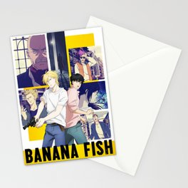 Ash and Eiji - Banana Fish Stationery Cards