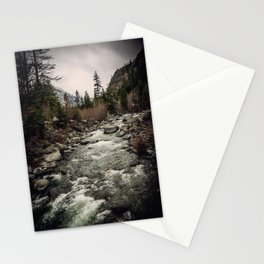 Winter Begins - River Mountain Nature Photography Stationery Cards