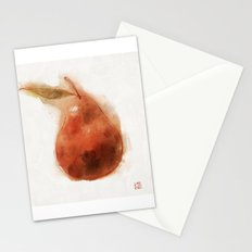 Perfect Pear Stationery Cards