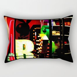Window Shopping Rectangular Pillow