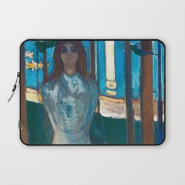 The Voice, Summer Night by Edvard Munch Laptop Sleeve