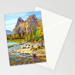 Lake O'Hara Holiday by Amanda Martinson Stationery Cards
