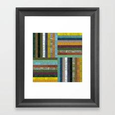 Wooden Abstract V Framed Art Print