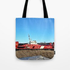 Hovercraft in Town Tote Bag