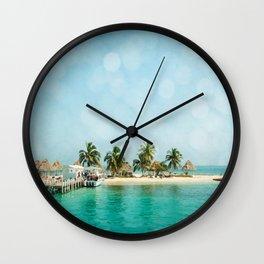 Rendezvous Caye Wall Clock