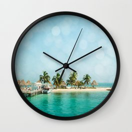 Rendezvous Caye Wall Clock