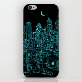 London! Night iPhone Skin