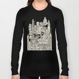 Hong Kong toile de jouy Long Sleeve T-shirt