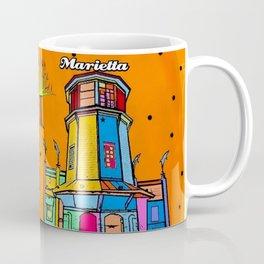 Marietta Popart by Nico Bielow Coffee Mug