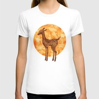 fawn T-shirts featuring Fawn  by FawnLorn
