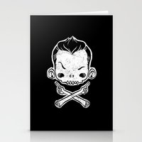 rebel Stationery Cards featuring Rebel by saimen