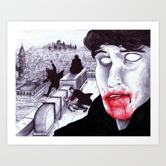"""Modern Vampires of the City"" by Cap Blackard Art Print"