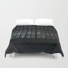 Rods old typewriter Duvet Cover