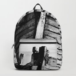 An old wreck Backpack