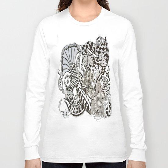 Zentangle i95 Long Sleeve T-shirt