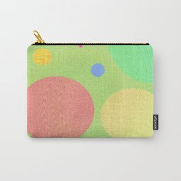 Re-Created Twisters No. 1 by Robert S. Lee Carry-All Pouch