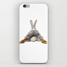 Cute Bunny Rabbit Tail Butt Image Easter Animal iPhone Skin