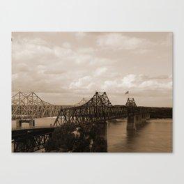 Vicksburg Bridge 2 Canvas Print