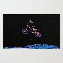 AIR TIME - Motocross Sports Art Rug