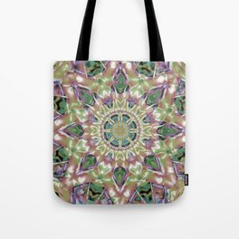 Abstract Flower AA YY Q Tote Bag