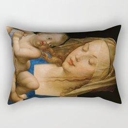 Virgin with the Pear by Albrecht Durer Rectangular Pillow