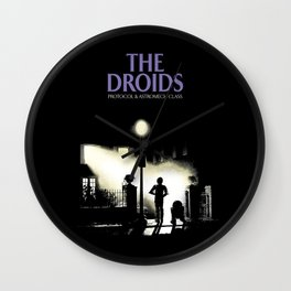 The droids Wall Clock