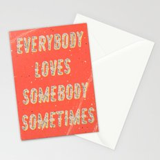 Everybody loves Somebody sometimes - A Hell Songbook Edition Stationery Cards