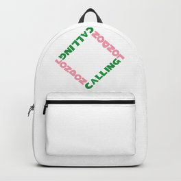 London Calling, a 80s rock hit Backpack