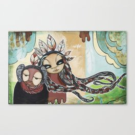 People of the Wind Canvas Print