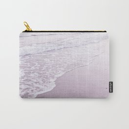 Happiness comes in pastel purple waves Carry-All Pouch