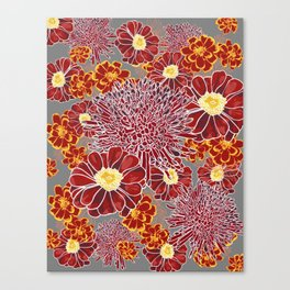 Floral Pattern I Canvas Print