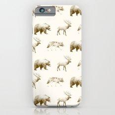 Wild Pattern // Brown Slim Case iPhone 6s