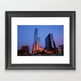 2009 - Urban Sunset I (High Res) Framed Art Print