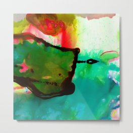 Abstract Bliss 4G by Kathy Morton Stanion Metal Print