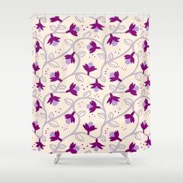 Fuchsias in Pink Shower Curtain